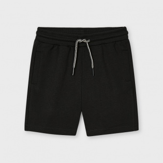 Shorts basic bomull sort