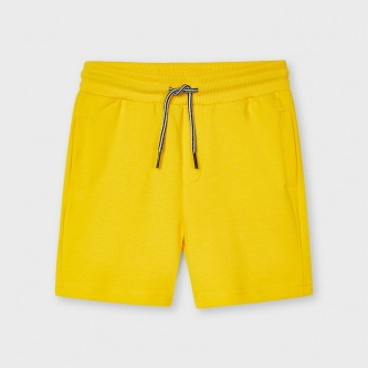 Shorts basic bomull gul