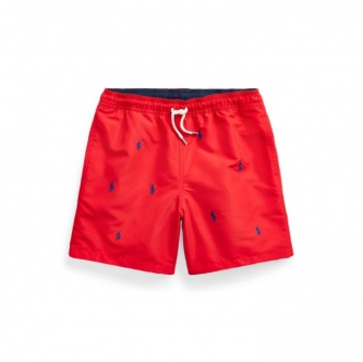 Badeshorts Polo Pony Red