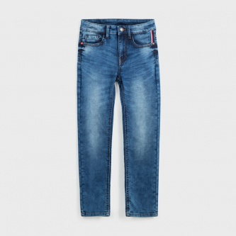 Basic Soft Jeans Lys Denim