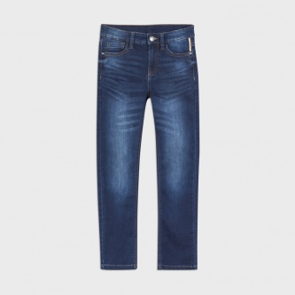 Basic Soft Jeans Mørk Denim