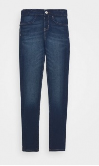Pull on jeggings mørk denim
