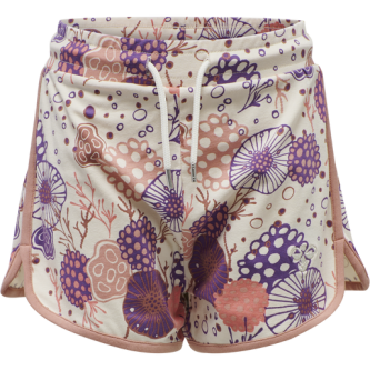 Shorts Coral off white